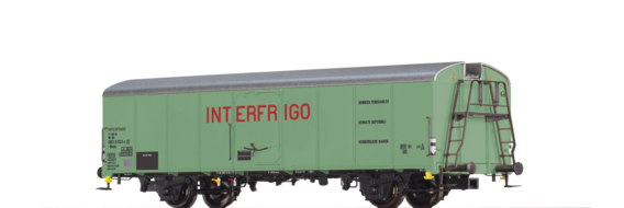 "Refrigerator Car UIC Standard 1 Ibces ""Interfrigo "" DB"