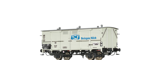 "Covered Freight Car Gh 03 ""Breisgau Milch"" DB"