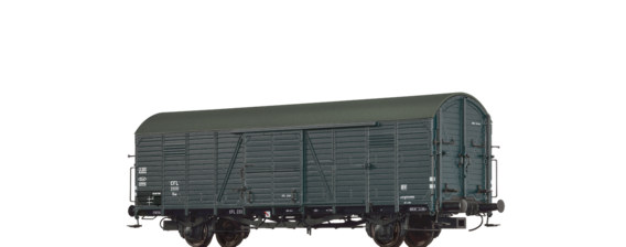 Covered Freight Car Kuw CFL