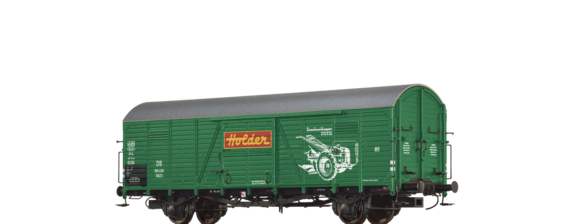 "Covered Freight Car Gltr 23 ""Holder"" DB"