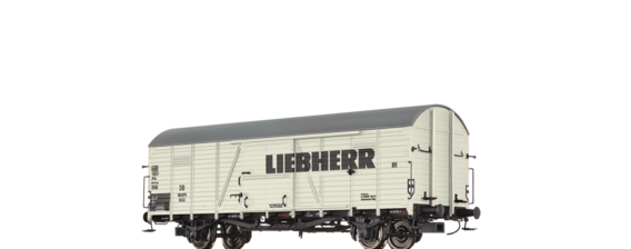 "Covered Freight Car Glr 22 ""Liebherr"" DB"