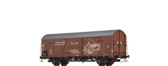 "Covered Freight Car Glt 23 ""Zündapp"" DB"