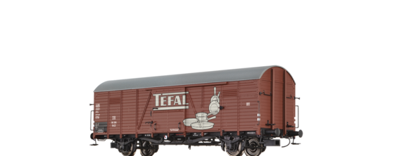 "Covered Freight Car Glr 22 ""Tefal"" DB"