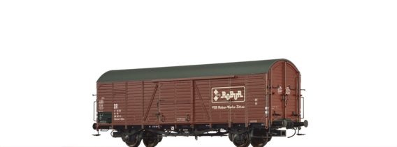 "Covered Freight Car Glthsu ""Robur"" DR"