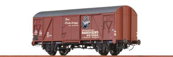 "Covered Freight Car Gms 54 ""Bauknecht"" DB"