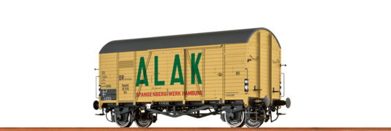 "Covered Freight Car Gms 30 ""ALAK"" DB"