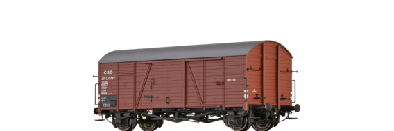 Covered Freight Car Gms 30 CSD