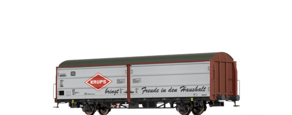 "Covered Freight Car Hbis 299 ""KRUPS"" DB"