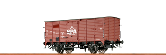 "Covered Freight Car G10 ""Spa Monopole"" SNCB"