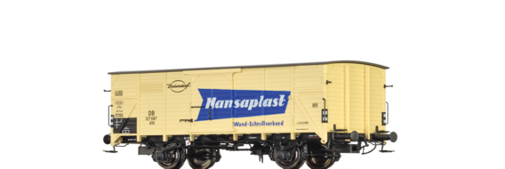 "Covered Freight Car G10 ""Hansaplast"" DB"