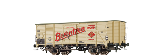 "Covered Freight Car G10 ""Berentzen Traditionskorn"" DB"