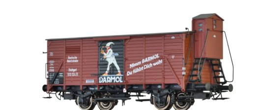 "Covered Freight Car G10 ""DARMOL"" DRG"