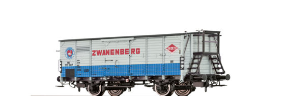 "Covered Freight Car G10 ""Zwanenberg"" NS"