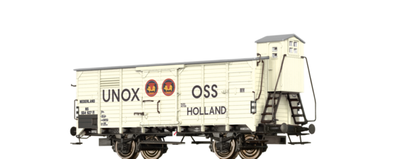 "Insulated Box Car G10 ""UNOX"" NS"