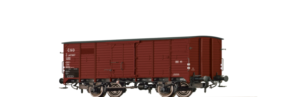 Covered Freight Car Z CSD