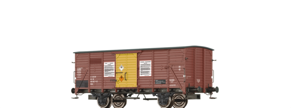 "Covered Freight Car Gklm ""Tetraethylblei"" DR"