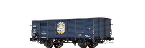 "Covered Freight Car G10 ""Fritz Homann"" DB"