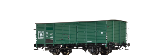 Covered Freight Car G10 SNCB / EUROP