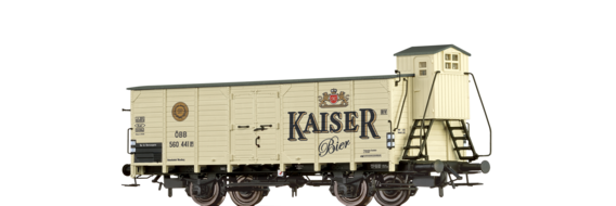 "Covered Freight Car G ""Kaiser Bier"" ÖBB"