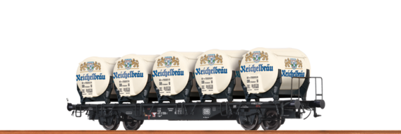 "Container Car Lbs 589 DB, with Ddikr 621 ""Reichelbräu"""