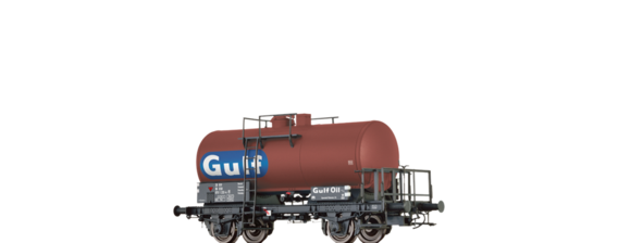 "Tank Car Z [P] ""Gulf Oil"" DSB"