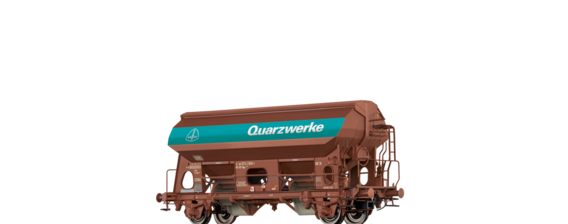 "Covered Freight Car Tdgs 930 ""Quarzwerke"" DB"