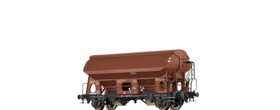 "Covered Freight Car Tdgs 930 ""K+S Kali"" DB"
