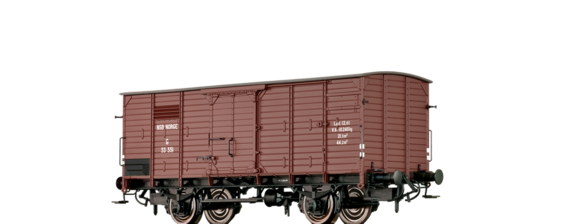 Covered Freight Car G NSB