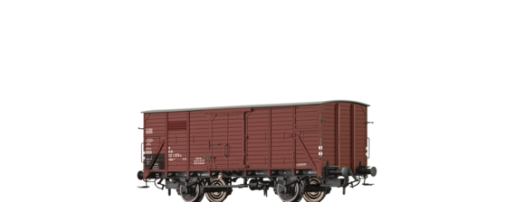 Covered Freight Car Gklm 191 DB