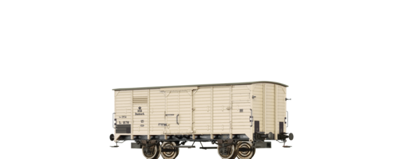 Covered Freight Car IE DSB