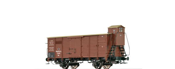 Covered Freight Car Nm K.P.E.V.