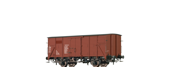 "Covered Freight Car 1121 ""Materialkurswagen"" DR"