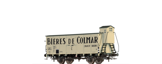 "Covered Freight Car wf2 ""Bieres de Colmar"" SNCF"