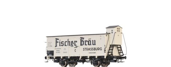 "Covered Freight Car G Karlsruhe ""Fischer Bräu"" DRG"