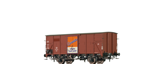 "Covered Freight Car G10 ""Caramba Öl"" DB"