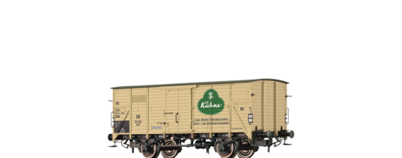 "Covered Freight Car G10 ""Kühne"" DB"