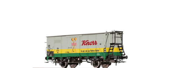 "Covered Freight Car G10 ""Knorr"" DB"