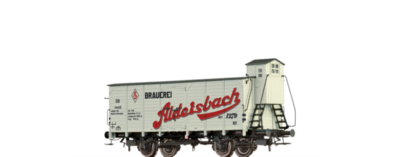 "Covered Freight Car G ""Aldersbach"" DB"