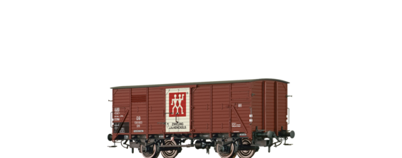 "Covered Freight Car G10 ""Zwilling"" DB"