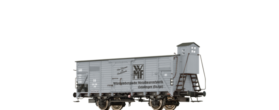 "Covered Freight Car G10 ""WMF"" DB"