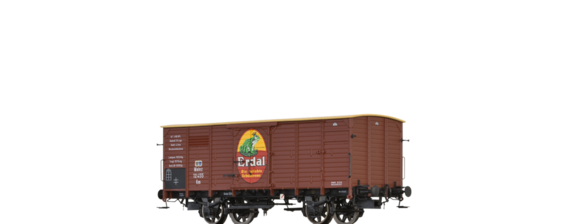 "Covered Freight Car Nm ""Erdal"" K.P.E.V."