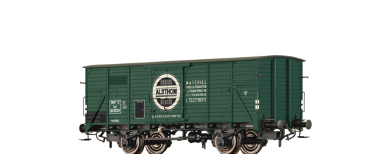 "Covered Freight Car Lw ""ALSTHOM"" SNCF"