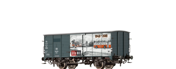 "Covered Freight Car G10 ""BRAWA"" DB"