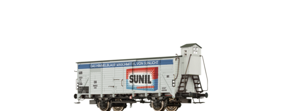 "Covered Freight Car G10 ""Sunil"" DB"