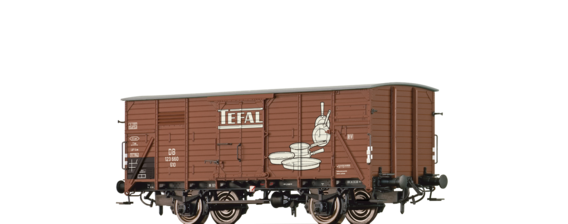 "Covered Freight Car G10 ""Tefal"" DB"