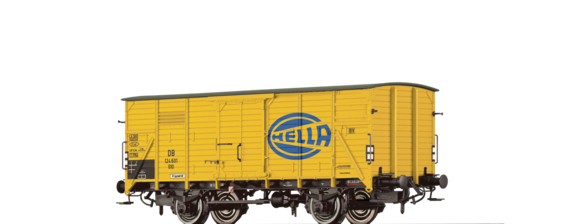 "Covered Freight Car G10 ""Hella"" DB"