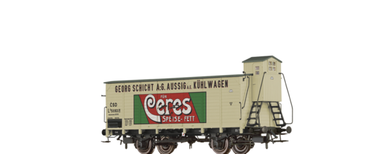 "Covered Freight Car Lp ""Ceres Speisefett"" CSD"