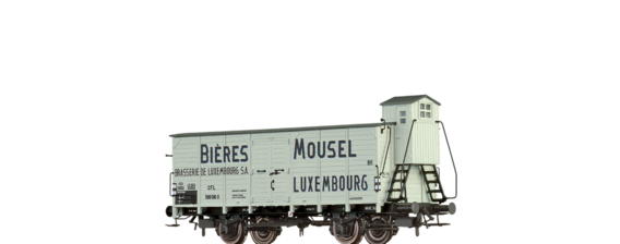 "Covered Freight Car ""Mousel Bieres"" CFL"