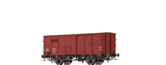 Covered Freight Car QB TKVJ