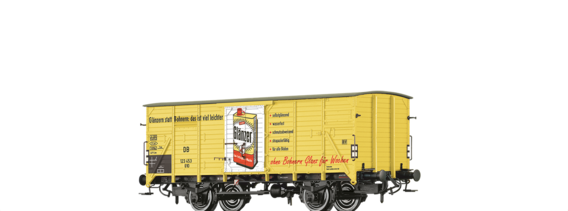 "Covered Freight Car G10 ""Glänzer (Erdal)"" DB"